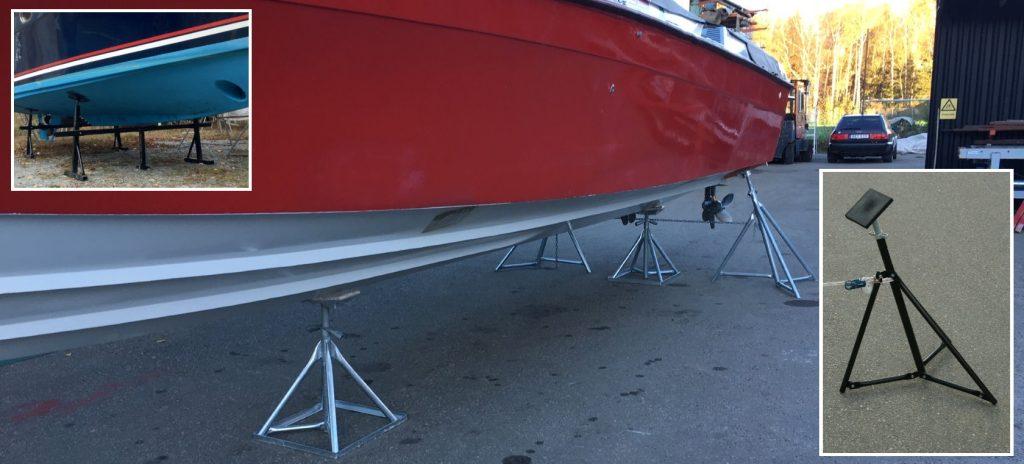 Bootstransport- und Bootslagersysteme