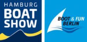 Wir stellen aus: Hamburg BOAT SHOW und Boot & Fun BERLIN