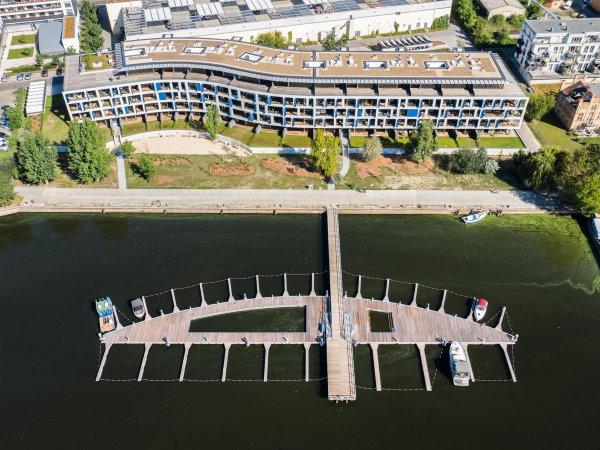 Schwimmsteganlage in Potsdam an der Havel